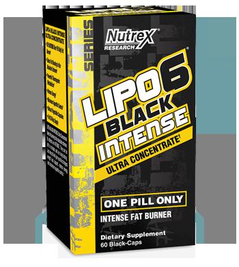 Lipo 6 Black Intense