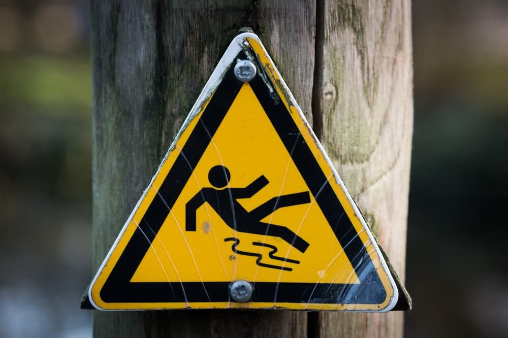 side effects yellow warning sign