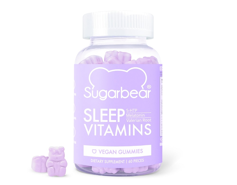 sugarbear sleep vitamins bottle