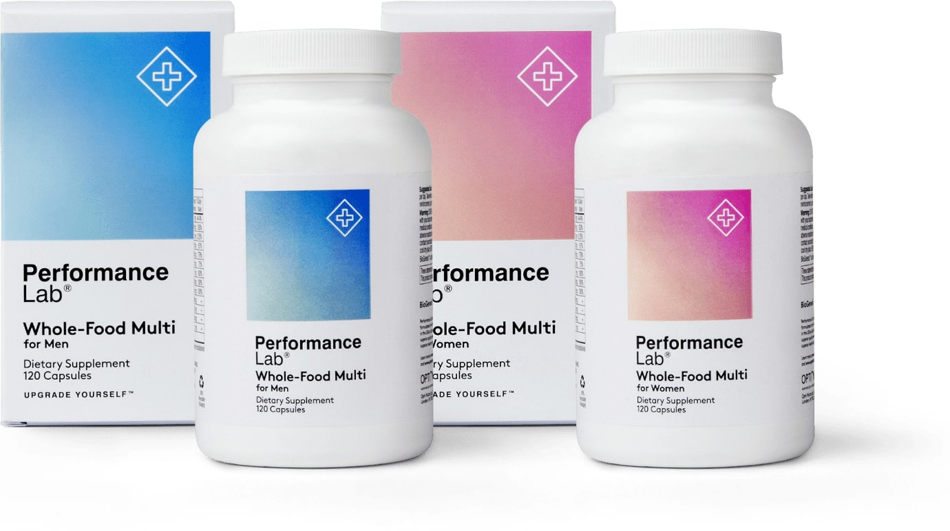 performance lab whole food multi review bottles