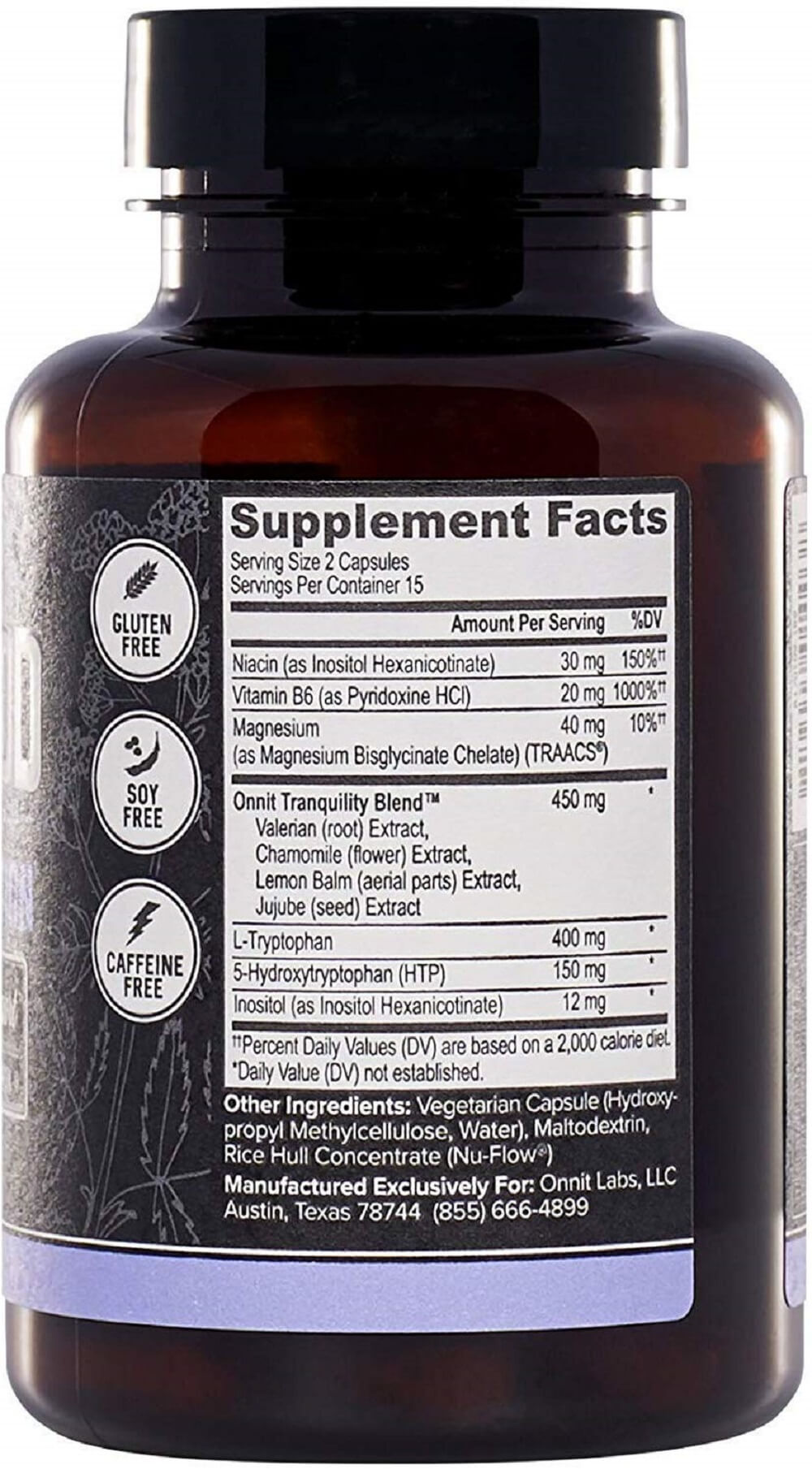 Onnit New Mood Review Ingredients
