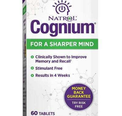 Natrol Cognium Review – Benefits | Ingredients | Side Effects